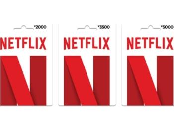 《Twitter フォロー&RTで応募》『Netflix』の「プリペイドカード3500円分」を10名様に♡