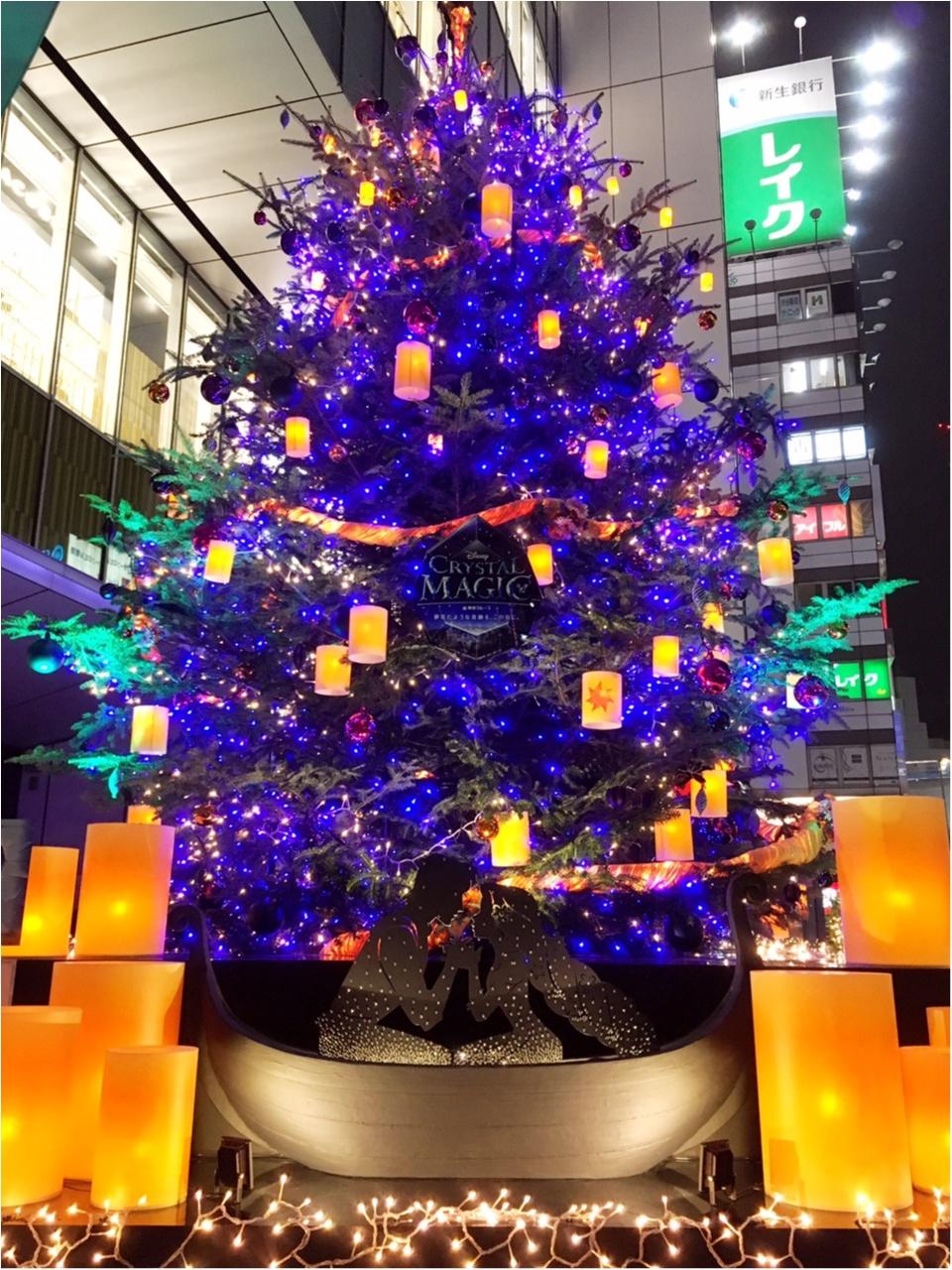 『渋谷ヒカリエ』のクリスマスはディズニープリンセスたちとコラボ♡『ラプンツェル・ツリー』点灯式に行ってきました(﹡´◡`﹡ )♡_4