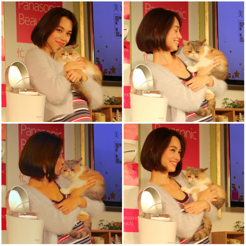水原希子さんとネコの2ショットに癒された♡ 『パナソニックビューティ』オープニングイベントレポート!_4