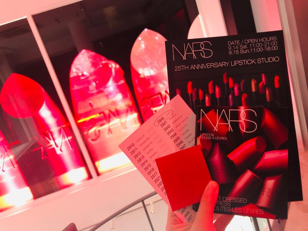 【NARS】豪華!リップ12色入りサンプルGET★新作リップ計72色がズラリと勢揃い♡_6
