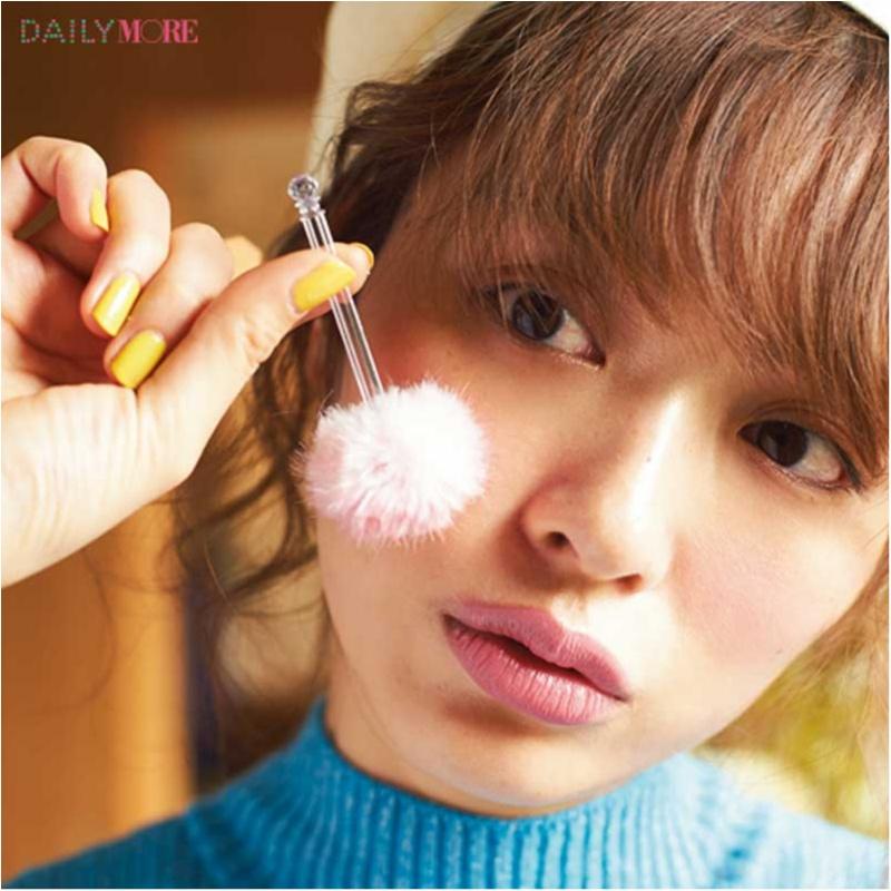 内田理央&イガリシノブさんが提案! 春は「恋するピンクチークメイク」で無敵フェイス♡_3_2