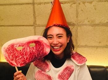 #土屋巴瑞季 とろける笑顔の焼肉大好きはーちゃん!【MORE SMILEUP CHALLENGE 11】