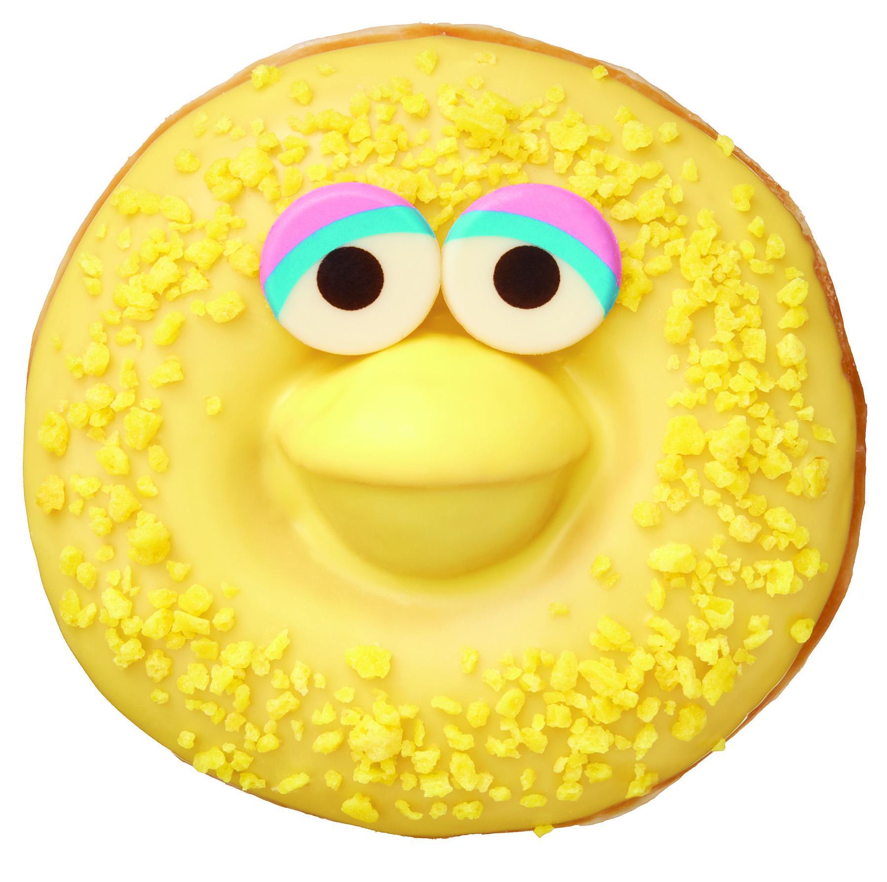 エルモやクッキーモンスターがドーナツに!!  『クリスピー・クリーム・ドーナツ』と『セサミストリート』の限定コラボ登場☆_4
