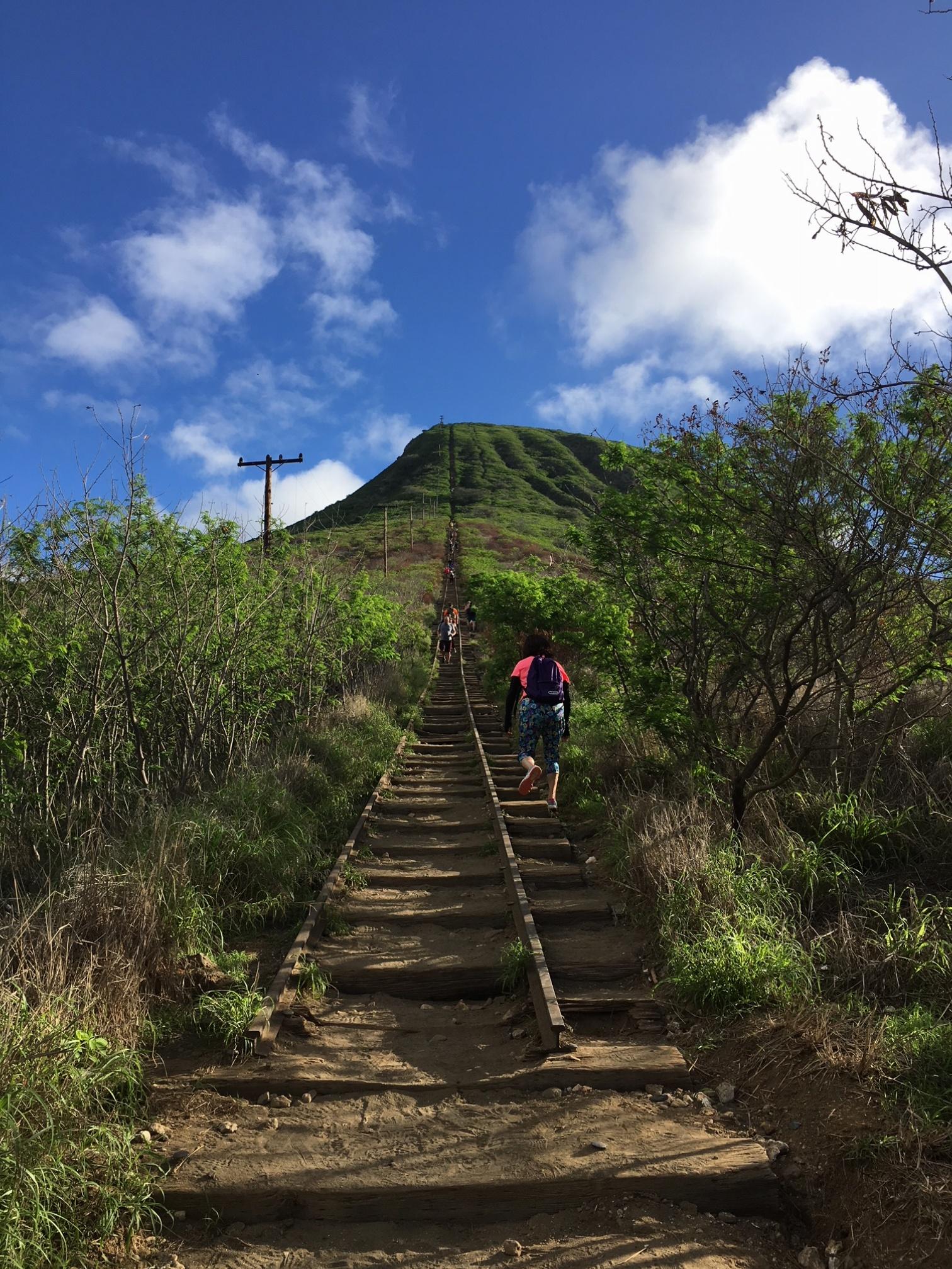 【ハワイ旅①】ダイヤモンドヘッドだけじゃない、ハワイのハイキング!キツい分それ以上の景色と感動が待っていました♡♡♡_3