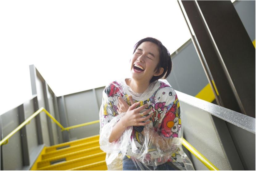 栞里、ユニバーサル・スタジオ・ジャパンで空を飛ぶ!【連載オフショット】_6