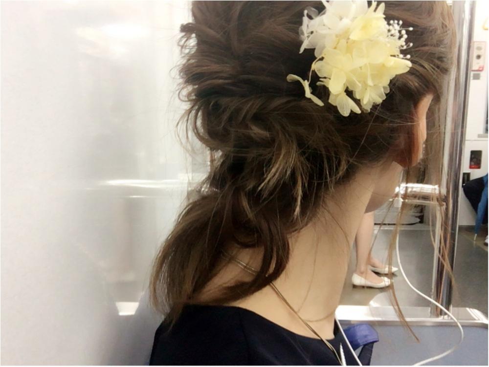 ★《結婚式のお呼ばれヘア》×《お呼ばれドレス》_2