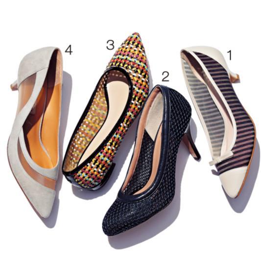 おしゃれな人がこの春最初に履きたい靴【透けるパンプス&カットワーク】_2