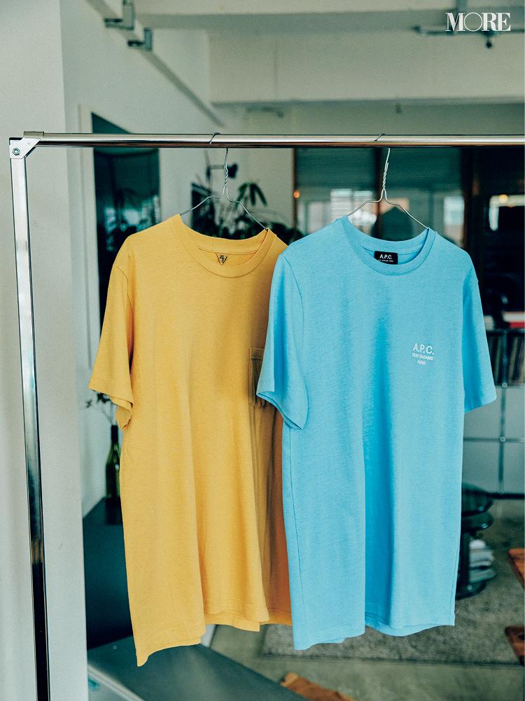 アー・ペー・セー、フィルメランジェのくすみTシャツ