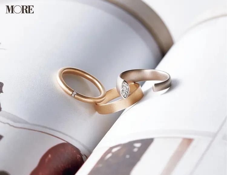 結婚指輪におすすめのヒロタカのエンゲージメントリングとマリッジリングとシンプルなダイヤモンドリング