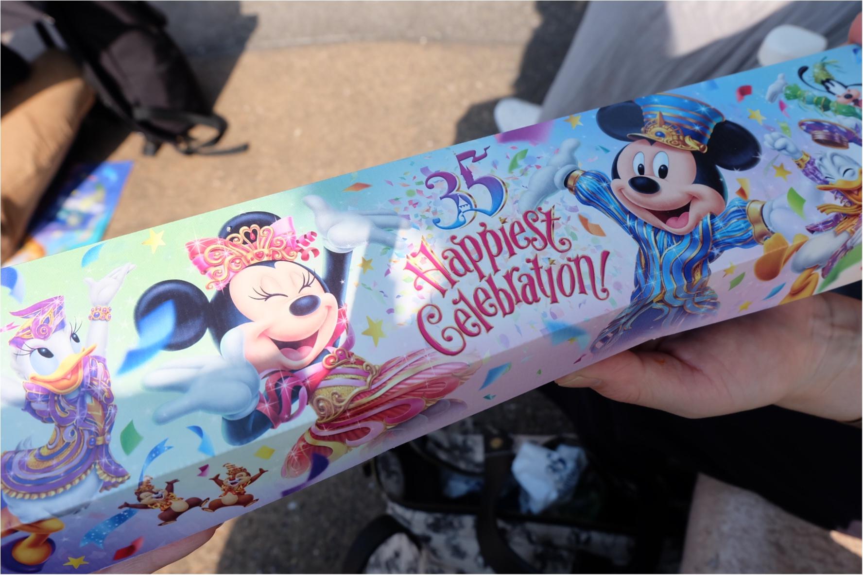 【東京ディズニーランド】4/15〜✩35周年スタート✩《Happiest celebration!》絶対食べて欲しいおすすめグルメ☝︎_2