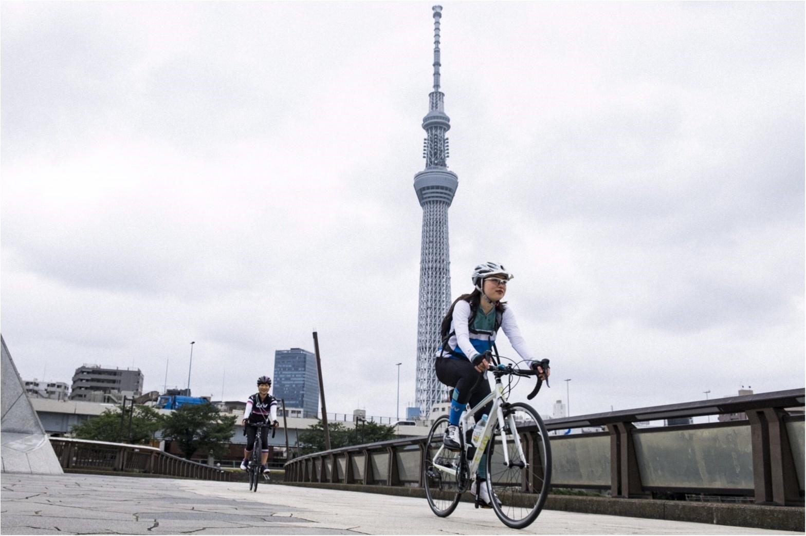 東京の名所巡り!ロードバイクですいすいお散歩♪  #ツール・ド・東北【#モアチャレ あかね】_3