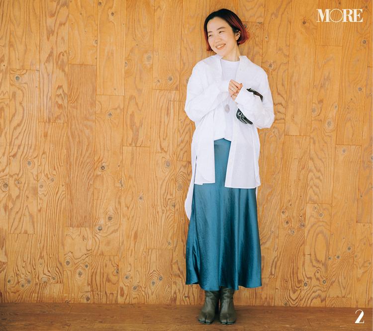 スタイリスト高野麻子さんの私服ロンTコーデ