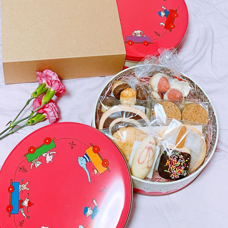 今話題のクッキー缶【東京】やきがしやSUSUCRE-シュシュクル- 保存料不使用【お土産・おもたせ】_1