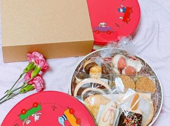 今話題のクッキー缶【東京】やきがしやSUSUCRE-シュシュクル- 保存料不使用【お土産・おもたせ】