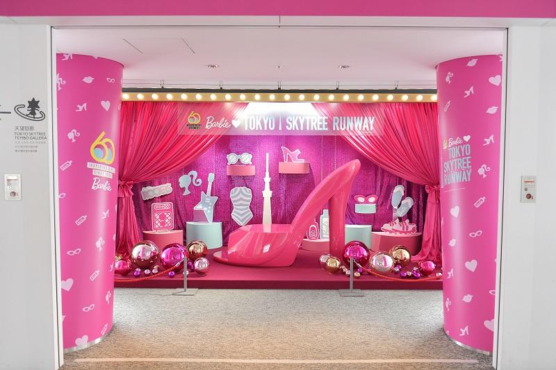 ファッションドール・バービーがデビュー60周年♡ 可愛すぎるカフェメニューや限定グッズなど、コラボイベントが『東京スカイツリー®』で開催中!!_2