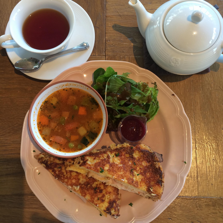 Afternoon Tea tearoomのサマーメニュー!_1