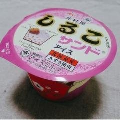 寒い時期こそ食べたい!!井村屋がしるこサンドとコラボした【しるこサンドアイス】 (443 まゆ