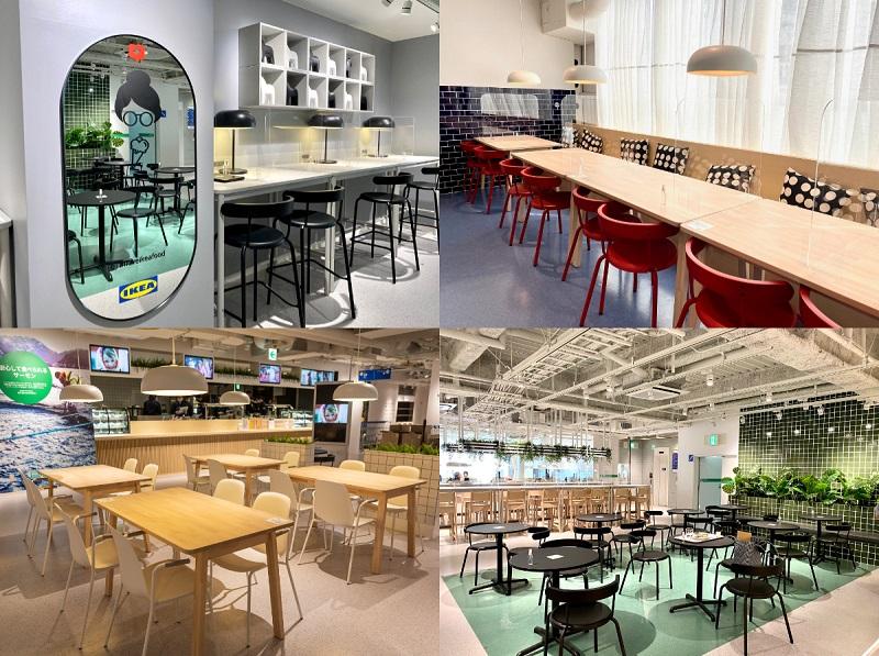 「IKEA 渋谷 スウェーデンレストラン」の内観