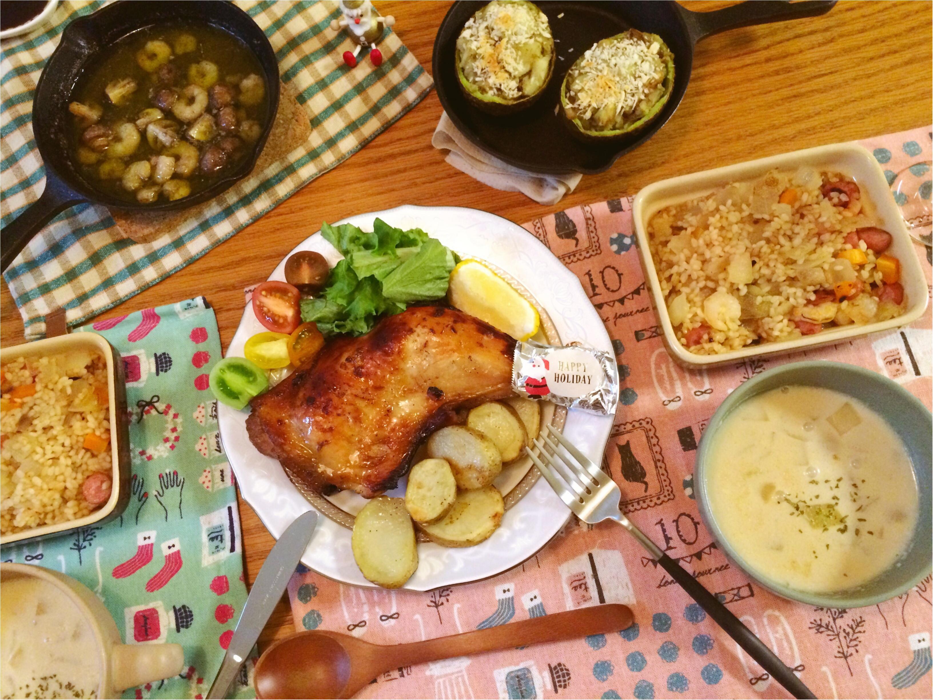 今年の【クリスマスおうちディナー】イチ押しは《アボカドのスコップコロッケ》_7