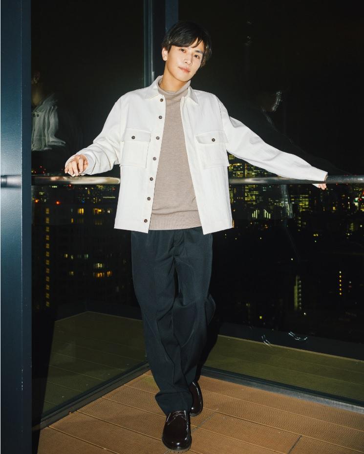 岩田剛典さん秘蔵カット