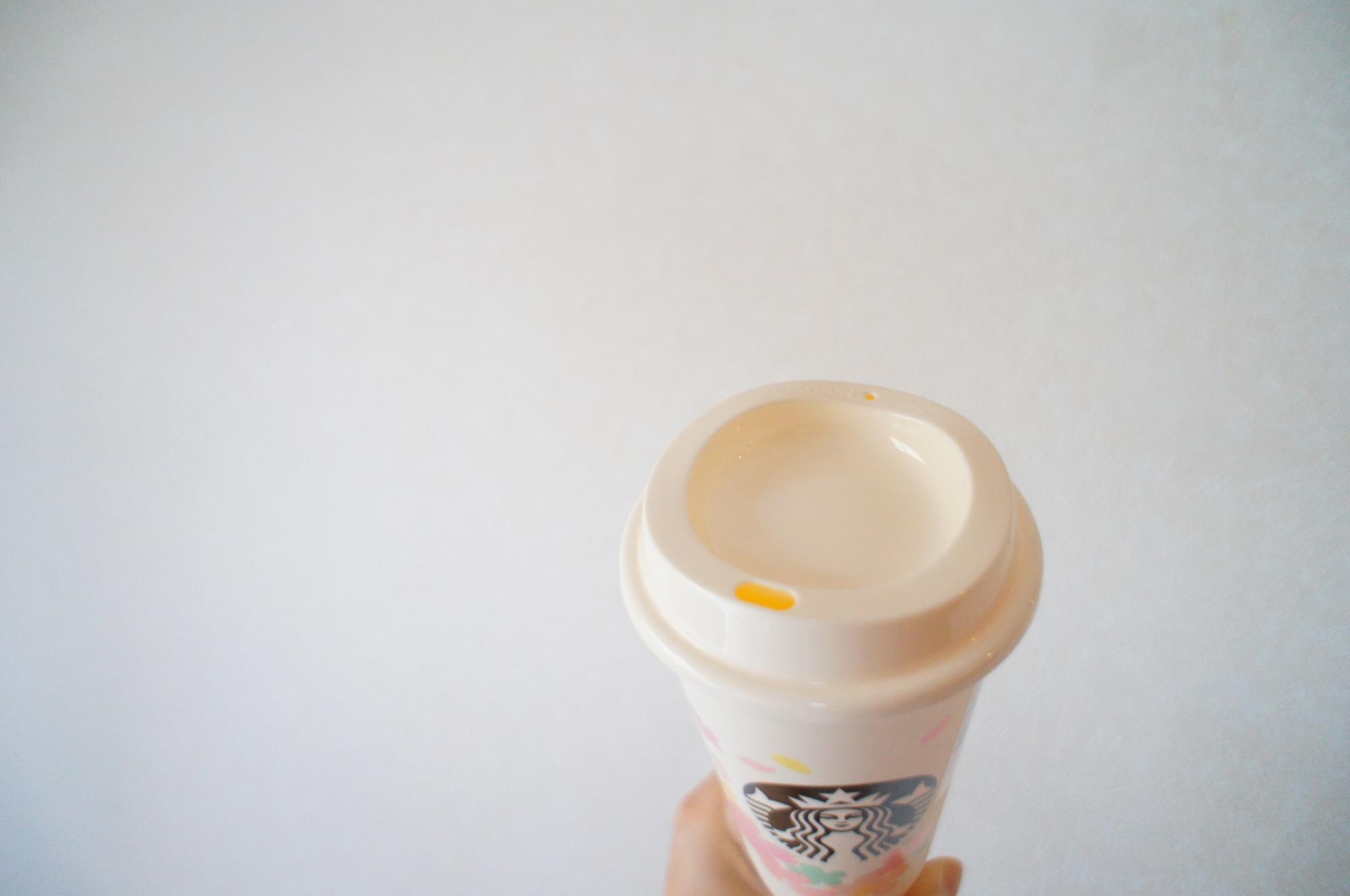 《繰り返し使える!値引もしてもらえる❤️》桜デザイン【スタバ】リユーザブルカップを買ってみました☻_3
