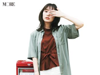 仕事の動画撮影、大成功☆ 内田理央主演『安くて洗えて可愛い夏コーデ着回し』28日目