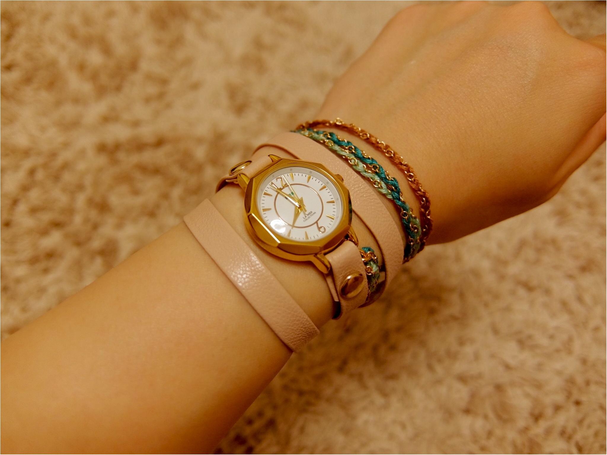 カジュアル好きにはたまらない♡【ラ・メール コレクションズ】の腕時計を買っちゃいました!_5