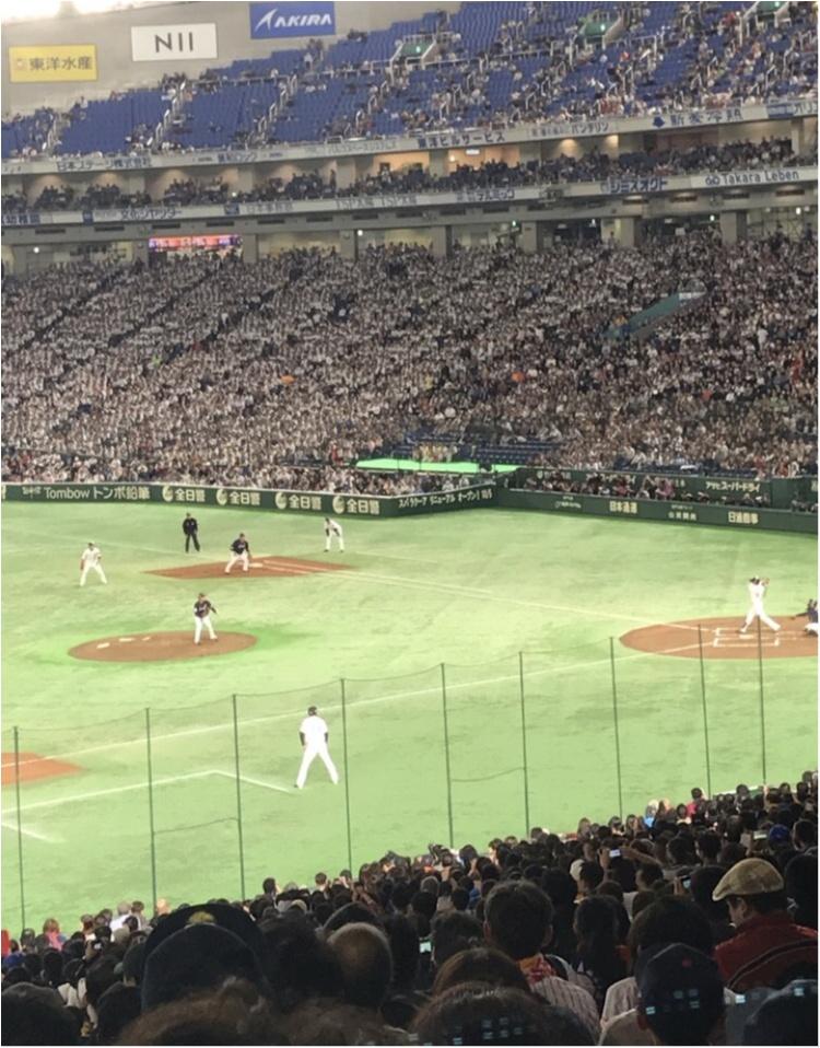 【プロ野球観戦★】いろんな球団の選手が集まる日本代表戦が面白い!私はこうやって野球観戦を楽しみます♡♡_8