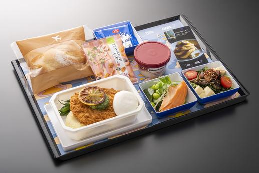 【ハワイ女子旅】『ANA』で『bills』のオリジナル機内食が楽しめる♡ ホノルル行きエコノミークラスに乗ろう♡_1