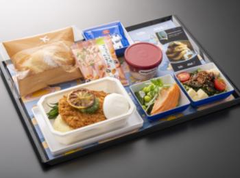 【ハワイ女子旅】『ANA』で『bills』のオリジナル機内食が楽しめる♡ ホノルル行きエコノミークラスに乗ろう♡