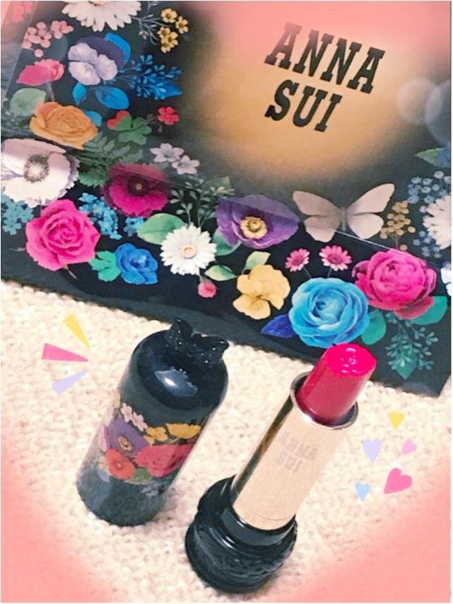 【2018年春コスメ】絶対買いたい!「ANNA SUI(アナ スイ)」の新作リップがバラ型で可愛いすぎる♡♡_2_2