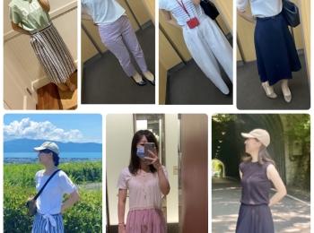 【ファッション】ここ最近の1週間コーデ纏めてみました