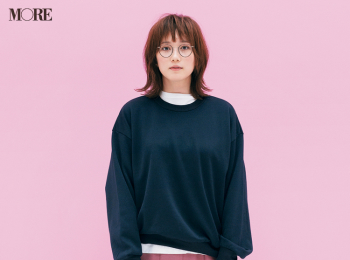 【今日のコーデ】<本田翼>三連休の初日はベリーピンクのスカートを可愛くカジュアルダウンして