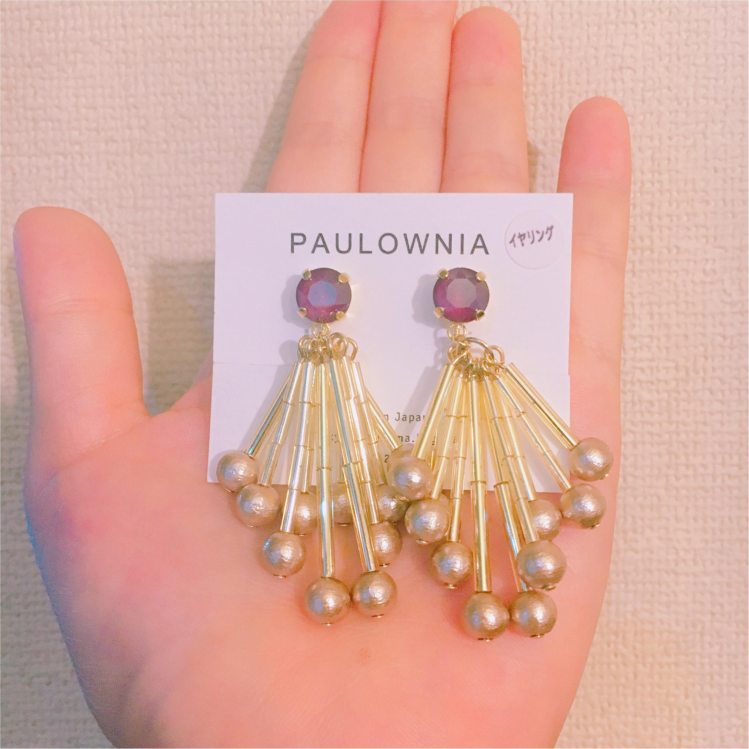 【大ぶりイヤリング】年末年始のイベントにもぴったり!paulowniaさんのイヤリング『スワロフリンジ』がかわいい♡♡_3