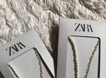 【ZARA】最新!人気のイニシャルネックレス