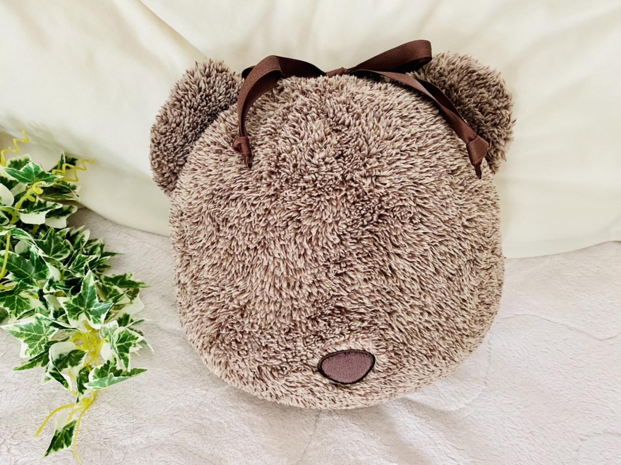 【GU新作】クマさん可愛すぎ♡クッションにもなる《4WAYブランケット》は今冬絶対買い!_1