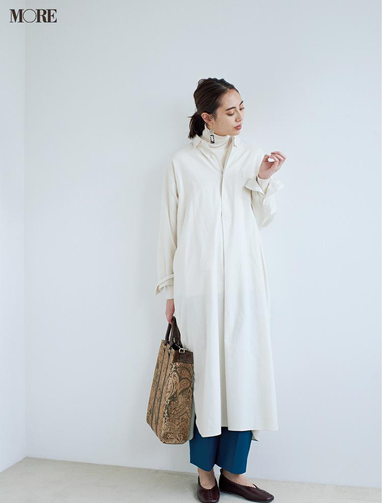 冬の白を誰よりおしゃれに着るために、守るべき配色ルールは「たった1つ」!_3
