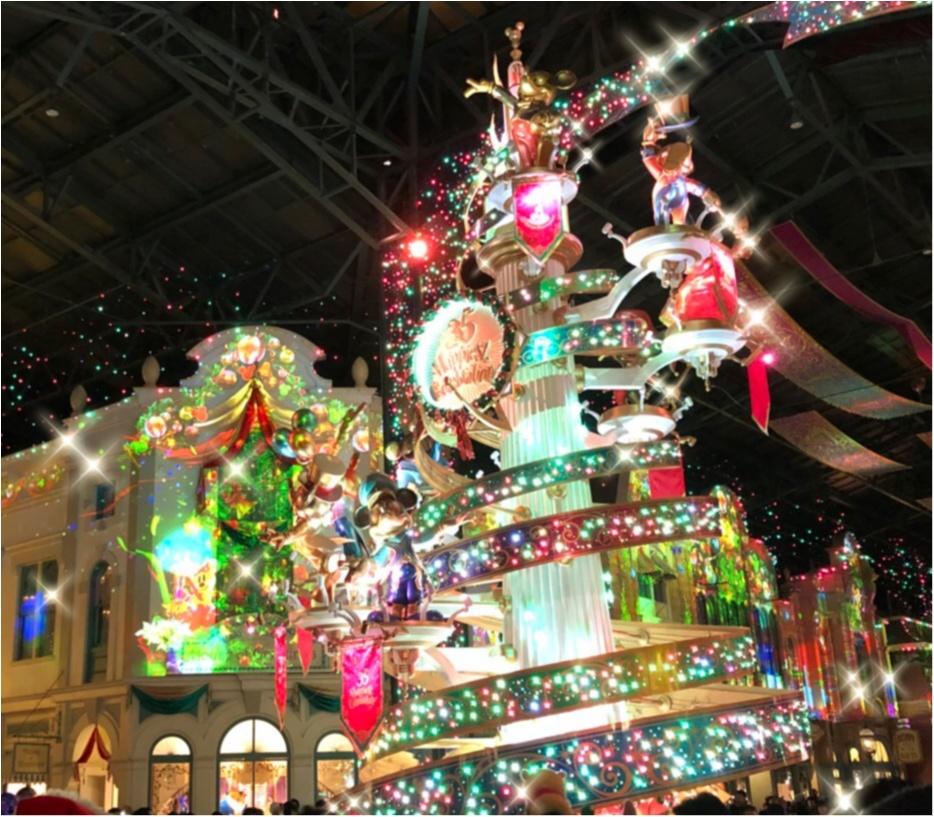 【ディズニー・クリスマス】夜のパークの楽しみ方!クリスマスのオススメを紹介します!_1