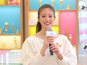 テープカットに今田美桜ちゃん登場♡ 『スワロフスキー』が表参道ヒルズにポップアップストアをオープン中!