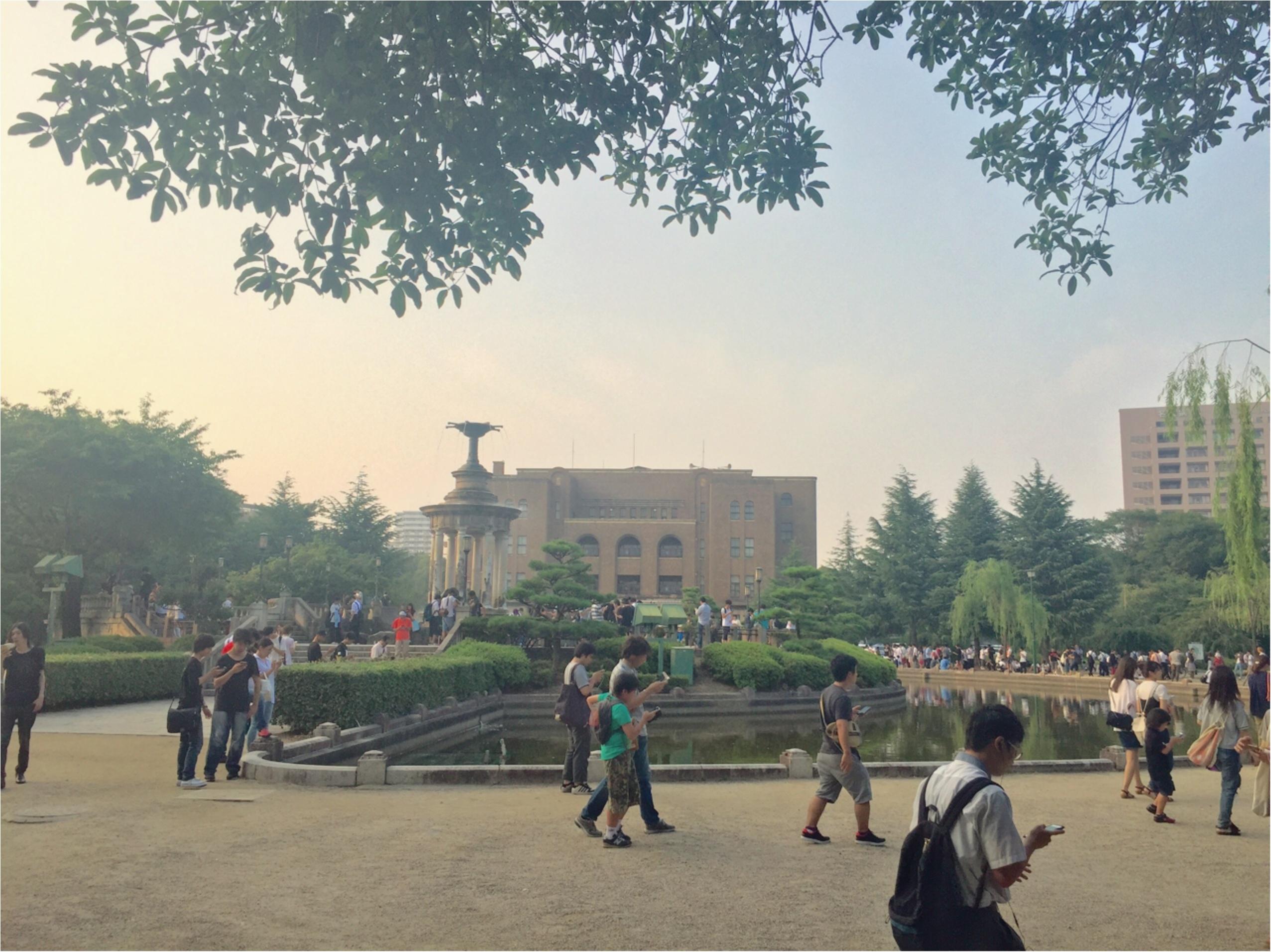 ポケモンの聖地⁉モンスターボールの形をした【名古屋の鶴舞公園】近くのおしゃれカフェ♡_1