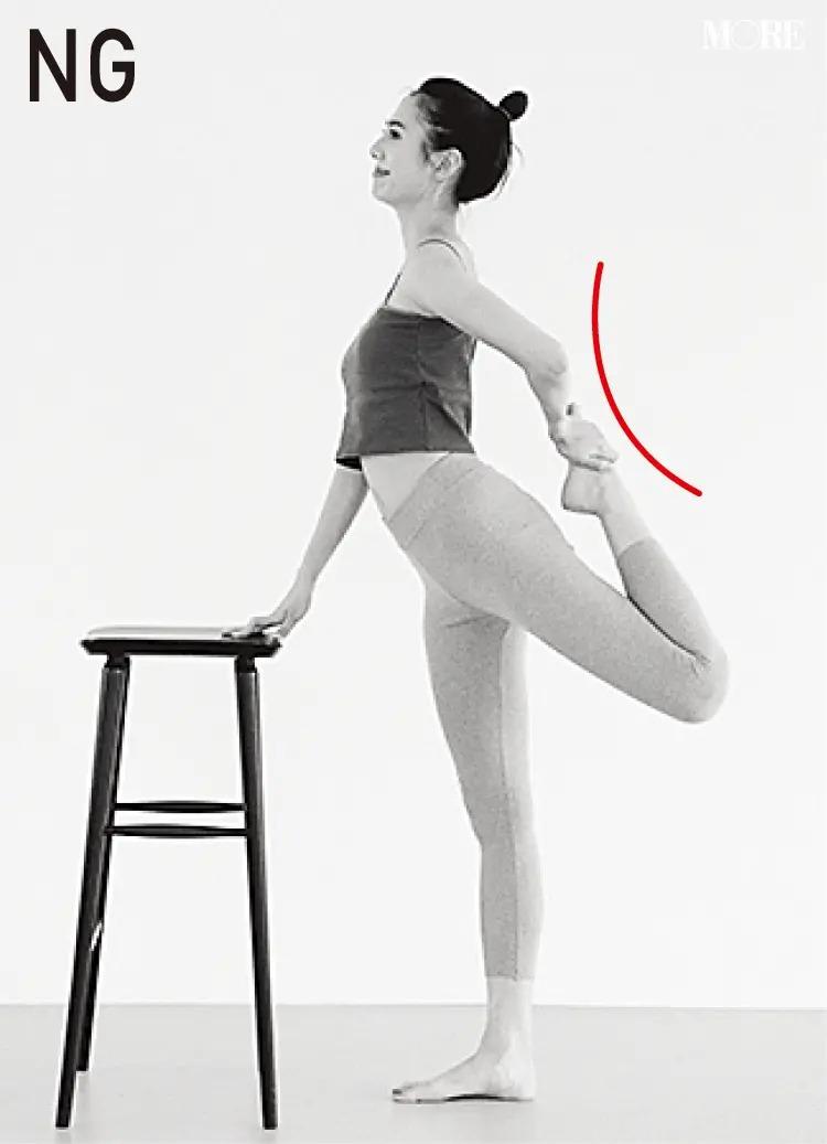 森拓郎ストレッチ法でNGとされる腰を沿ったモデル