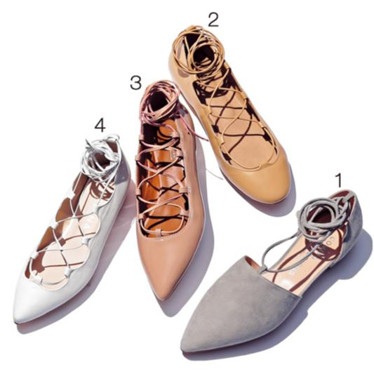 おしゃれな人がこの春最初に履きたい靴【レースアップ&スウェードパンプス】_2