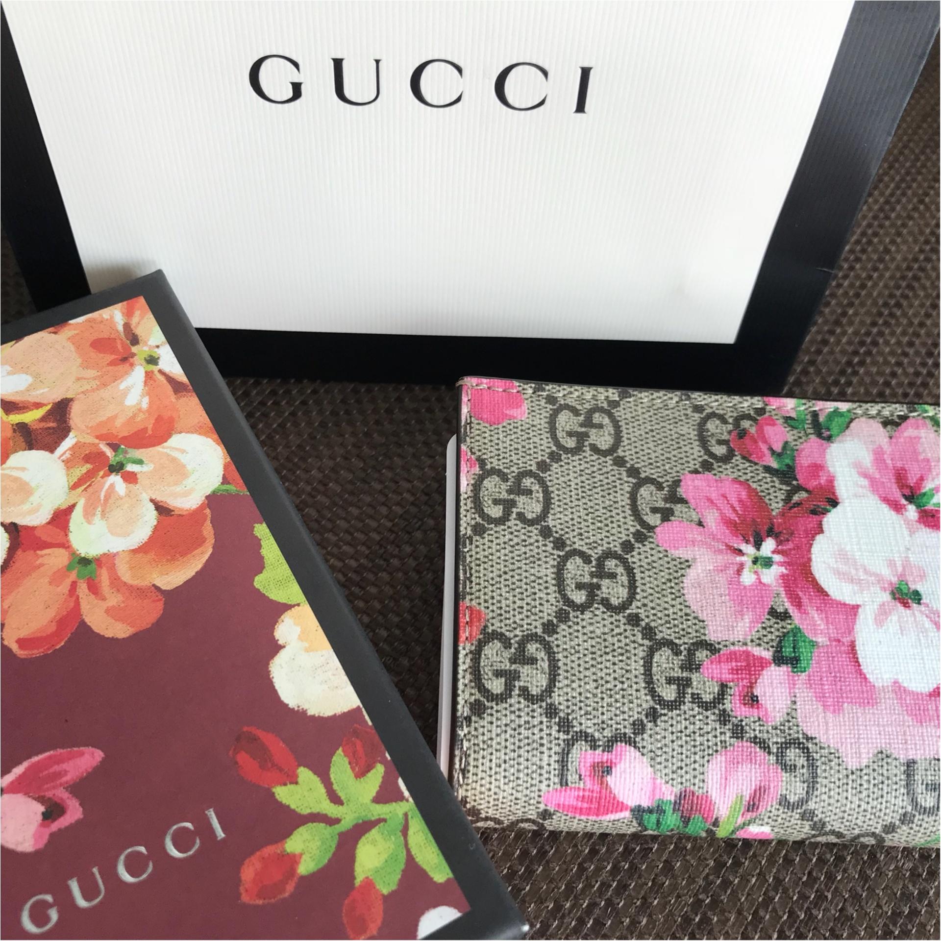 ★『GGブルームスコレクション』がとってもキュート♡念願の二つ折り財布を購入しました★_3