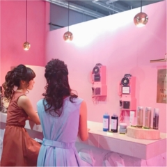 ★フォトジェニックな美容院⁉︎女子会のヘアスタイルはSNSで話題のあのお店★