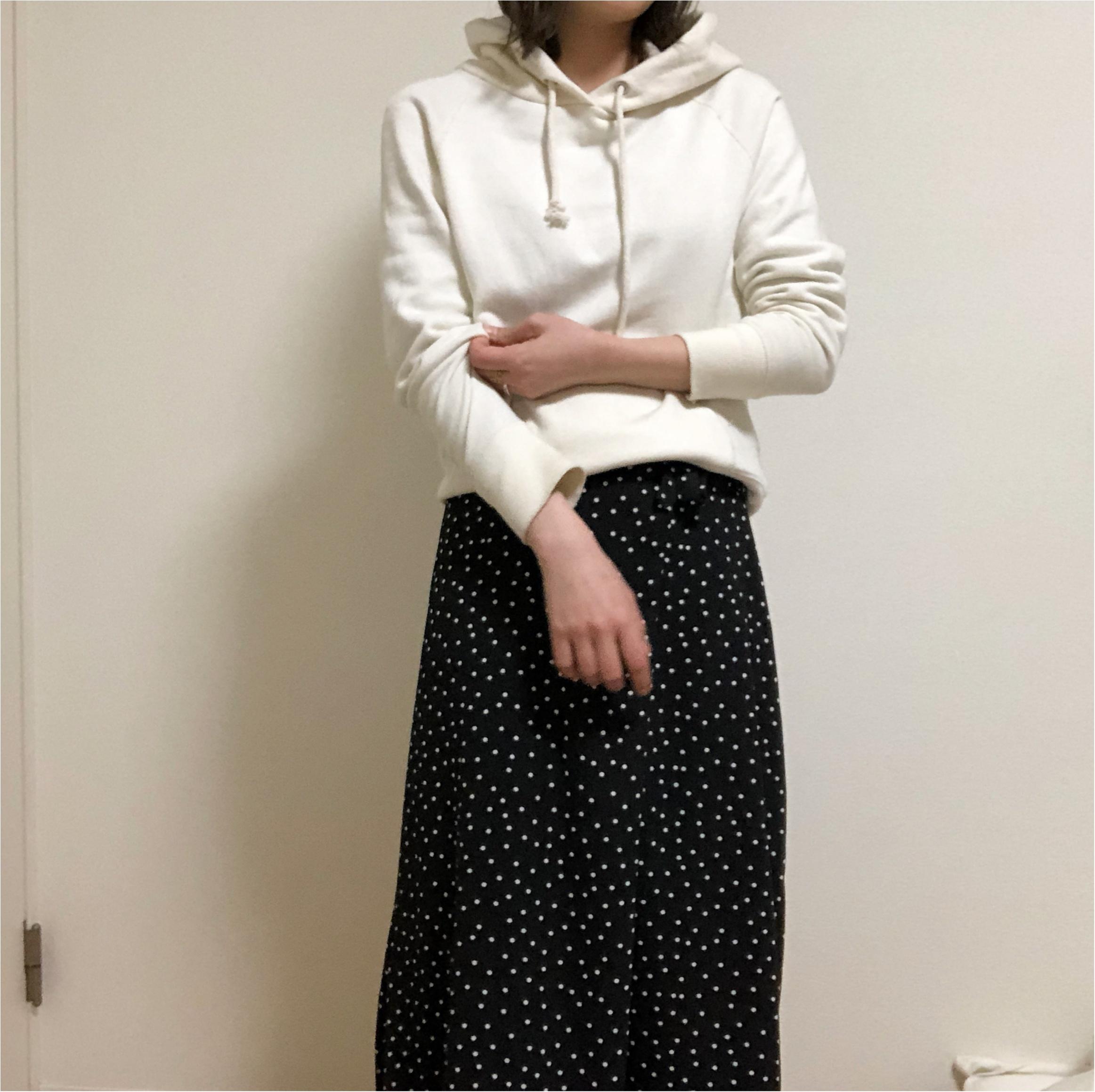 春になると着たくなる《ドットスカート》は【GU】で!見た目も値段も超かわいい〜♡_5