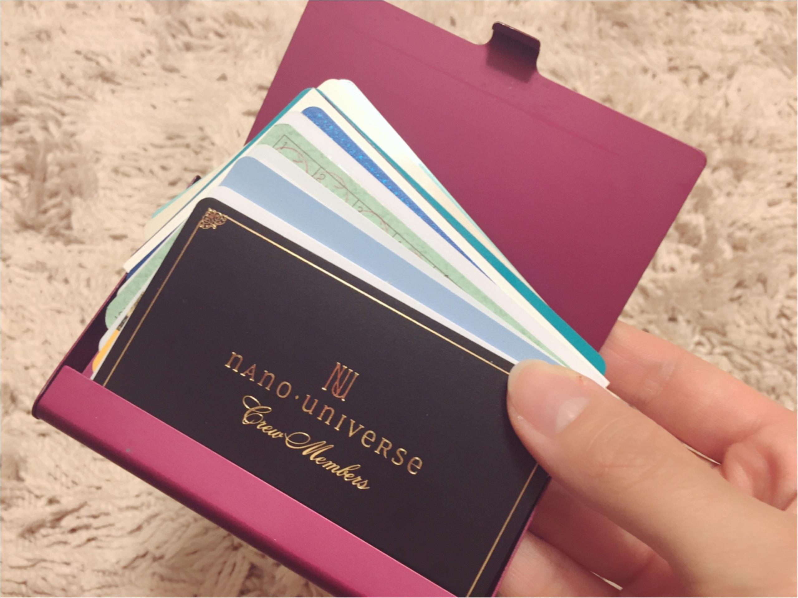 愛用財布は【PRADA】♡二つ折り派さん必見の≪カード収納術≫も紹介!_7