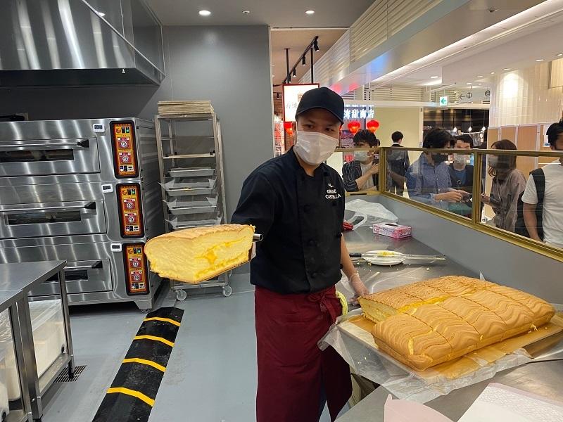 日本初上陸、台湾カステラの元祖名店『グランドカステラ』のお店の様子