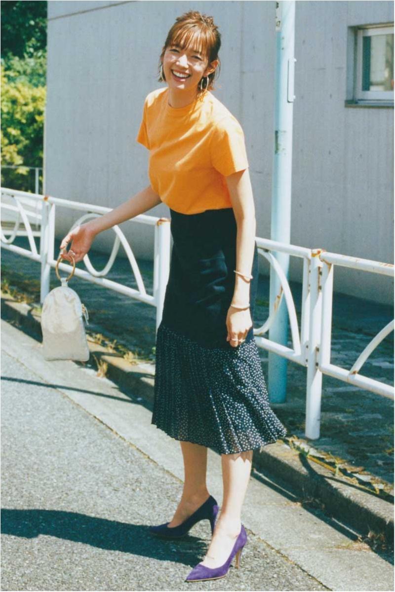 佐藤栞里,秋服,好かれる服,秋,スカート,レース,甘くない服