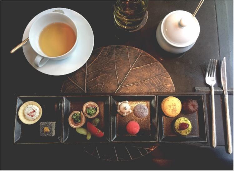 【FOOD】ブラックアフタヌーンティー だけじゃない!アマン東京 ザ・カフェの、スイーツボックスにも注~目♥_6
