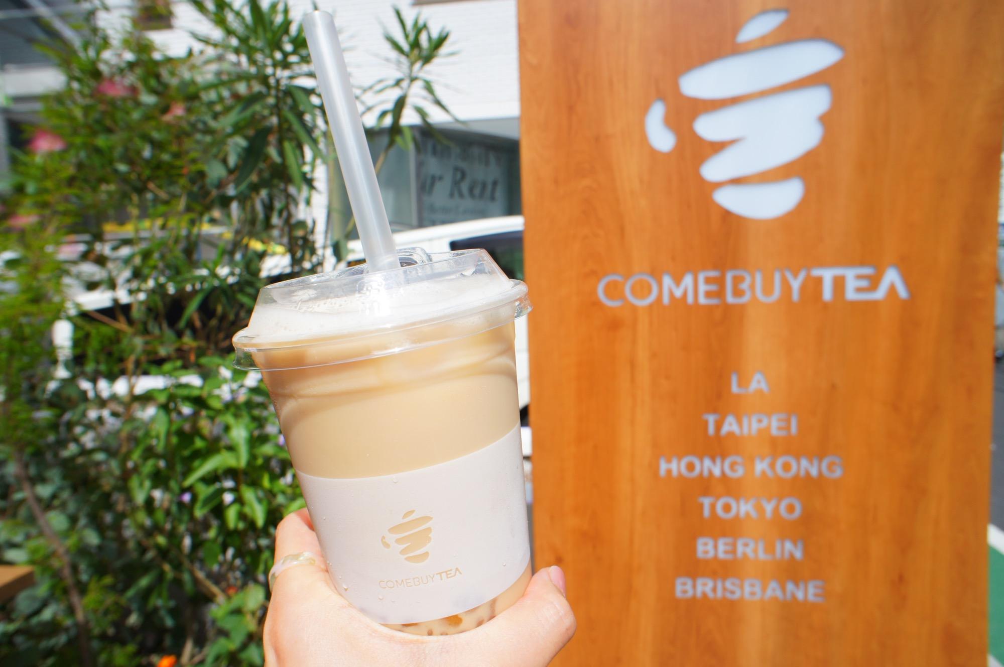 《日本初上陸❤️》TSUTAYAが展開する話題の台湾ティーブランド【COMEBUYTEA】に行ってきました☻_5